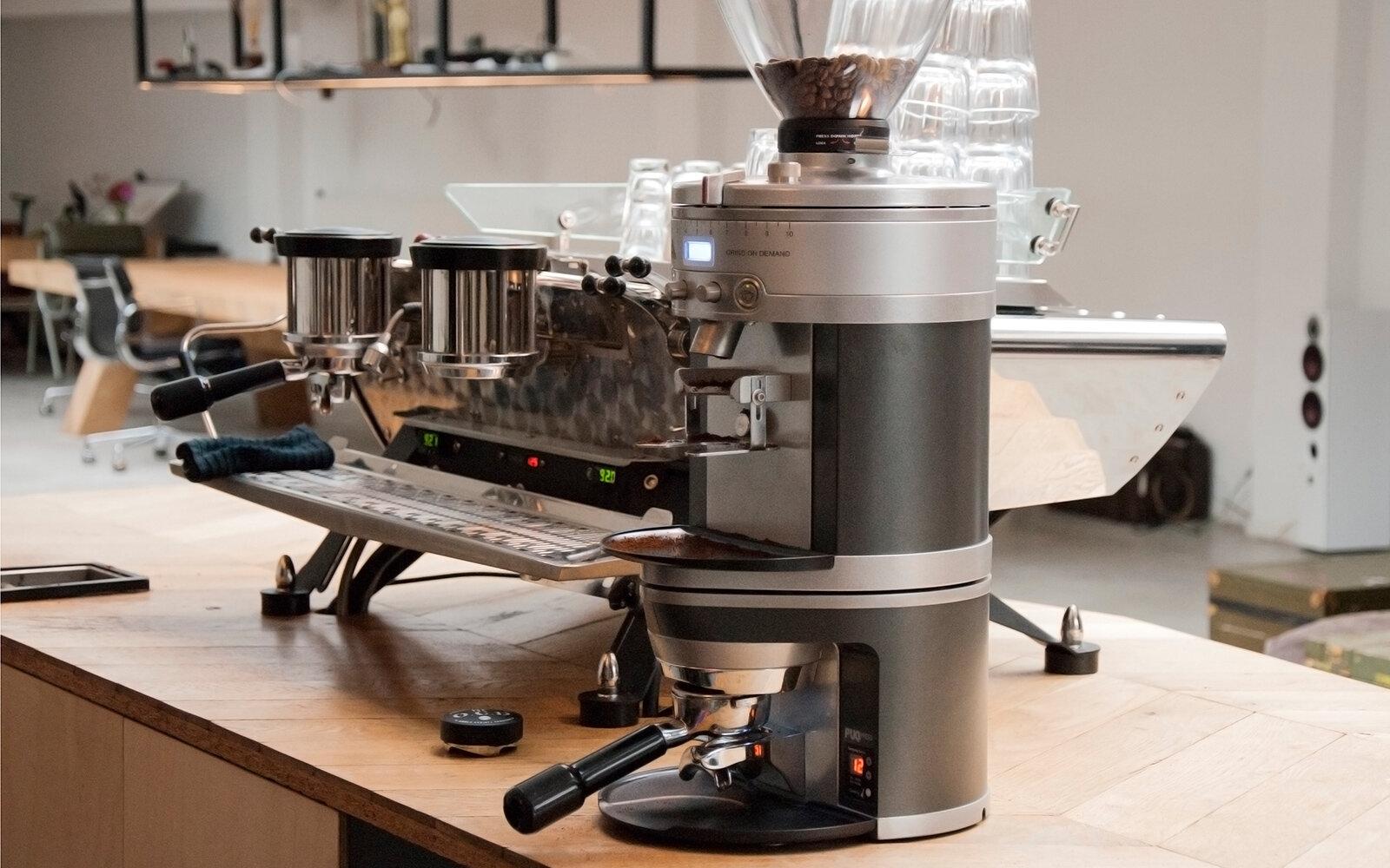 Máy xay cà phê cho quán vừa và lớn