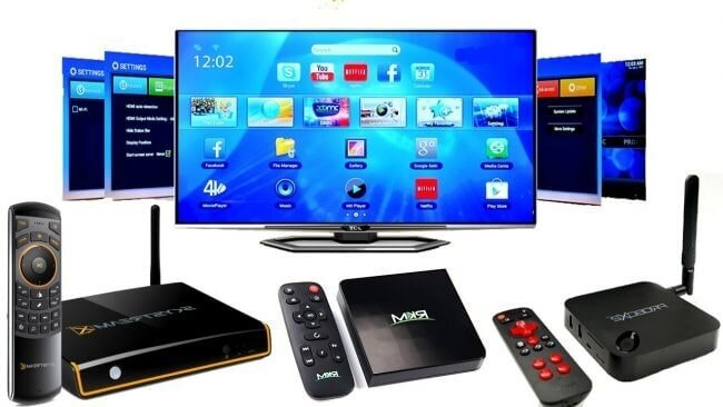 Hệ điều hành Android Tivi Box hỗ trợ nhiều ứng dụng khác nhau