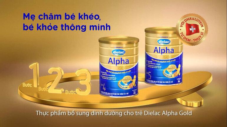 sữa bột dielac alpha có tốt không?