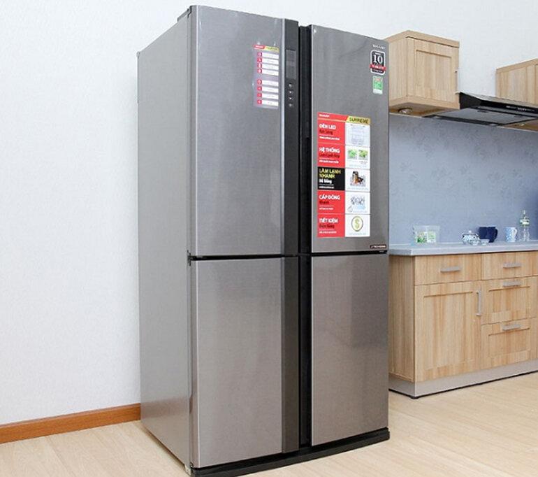 Tủ lạnh ngăn đá dưới Sharp