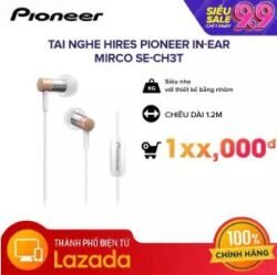 Tai nghe Hires Pioneer In-Ear Mirco SE-CH3T