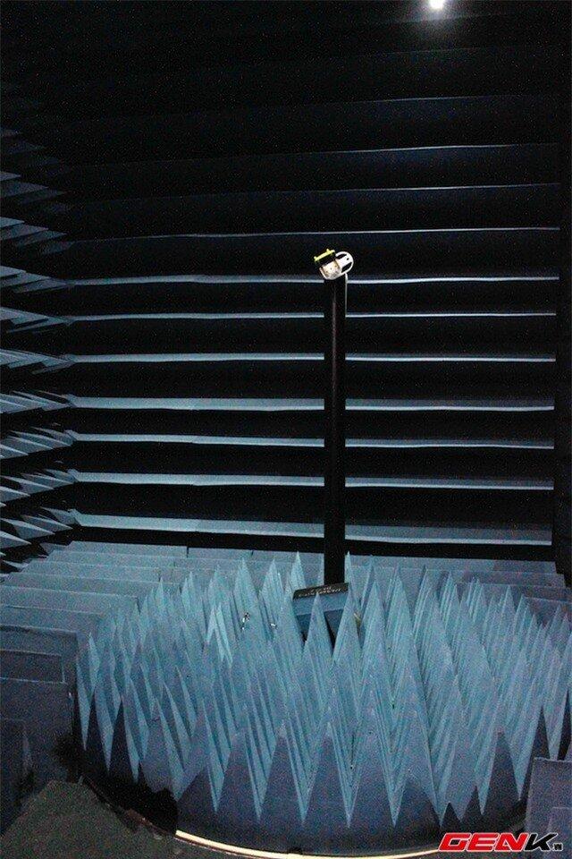 Phòng kiểm tra sóng được đầu tư khoảng 5 triệu Nhân dân Tệ (hơn 17 tỉ đồng) và được nhập từ Mỹ.