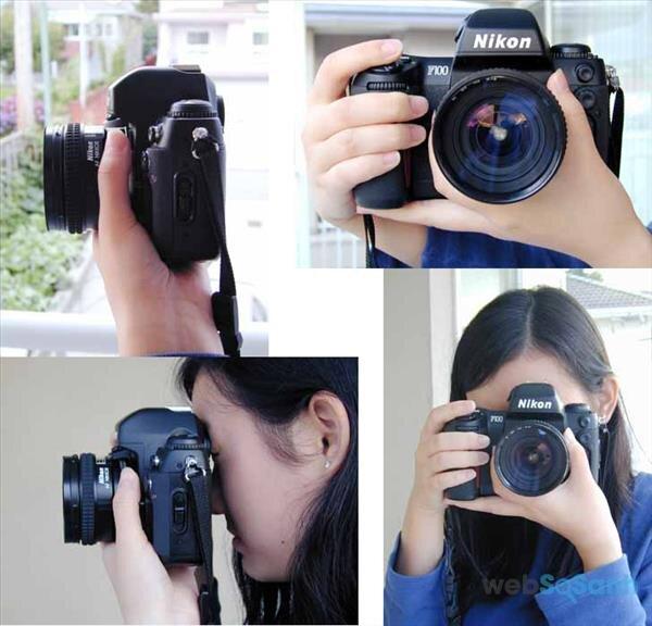 Cách cầm máy ảnh
