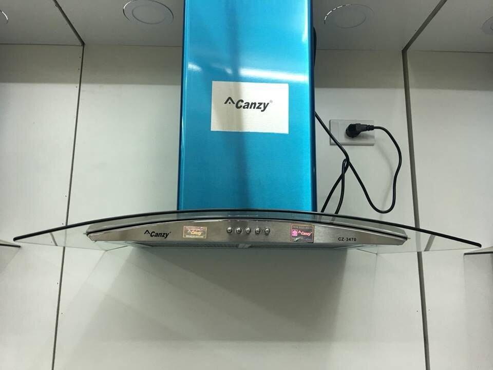 Bạn sẽ thấy thích khi trang bị máy hút mùi Canzy CZ 3470 ở trong gian bếp nhà mình