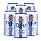 Bia Tiger Crystal lốc 6 lon x 330ml