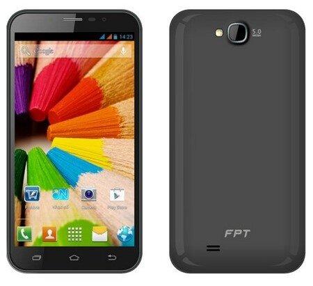 FPT HD V là sản phẩm phablet đầu tiên của FPT
