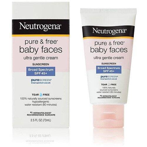 Neutrogena Pure & Free Baby Faces SPF 45+