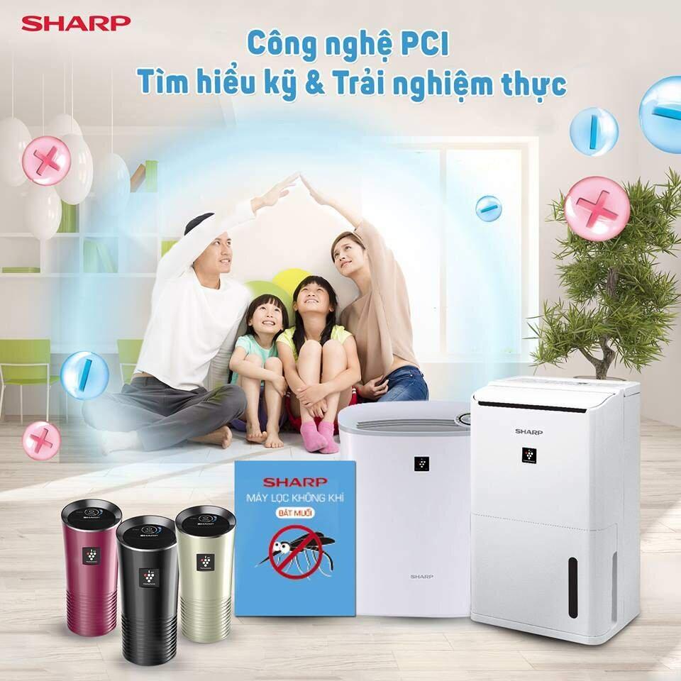 Máy lọc không khí Sharp thương hiệu được tin dùng, cho gia đình vui- khỏe