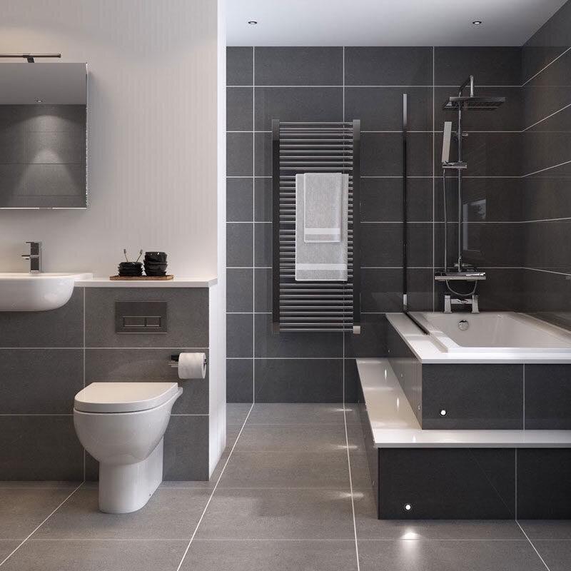 Tạo sự ấm áp, dễ chịu cho không gian phòng tắm