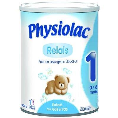 Sữa bột Physiolac số 1 - hộp 900g (dành cho trẻ từ 0 - 6 tháng)