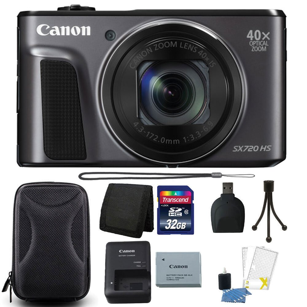 Máy ảnh PowerShot SX720 HS chụp ảnh sắc nét, thỏa niềm đam mê du lịch, chụp ảnh