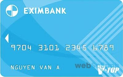 Cách làm thẻ ATM ngân hàng EximBank