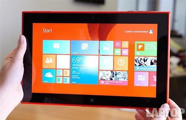 Đánh giá tablet Lumia 2520: Sức hấp dẫn đến từ thương hiệu