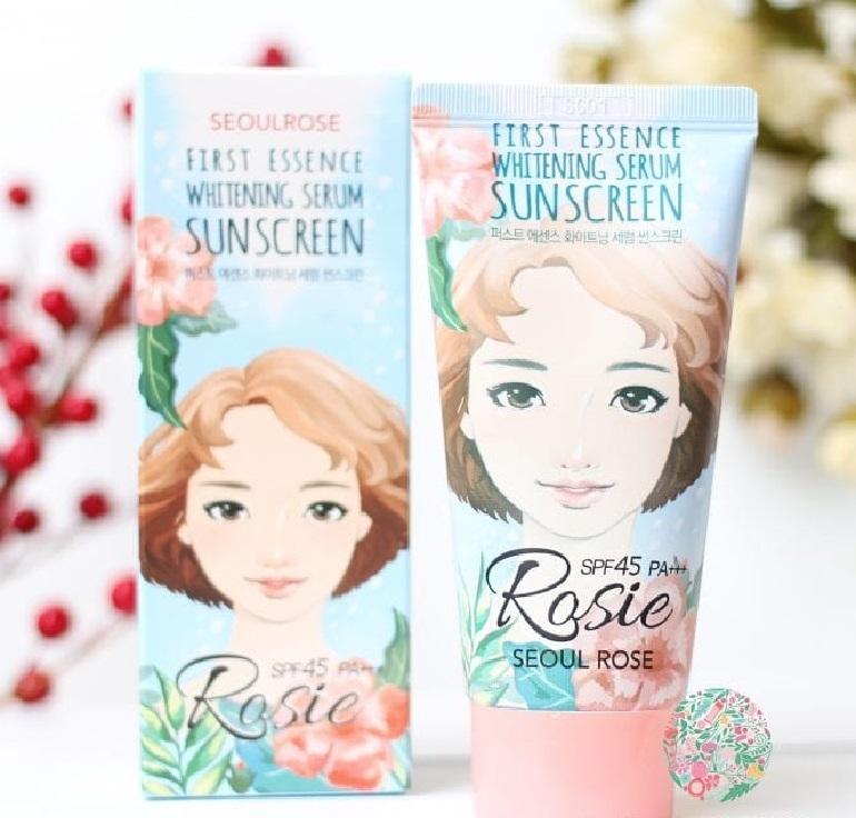 Kem chống nắng Rosie First SeoulRose dùng có tốt không?