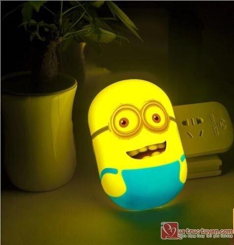 Đèn ngủ cảm ứng ánh sáng Minion - 01089