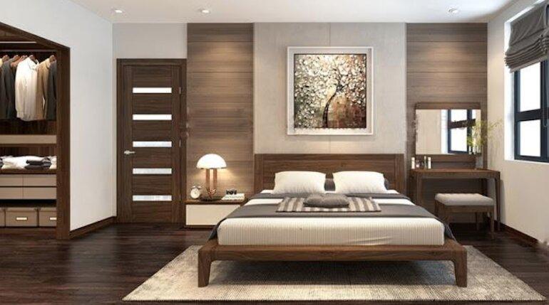 Thiết kế nội thất phòng ngủ hiện đại – Những bí quyết cần nắm rõ
