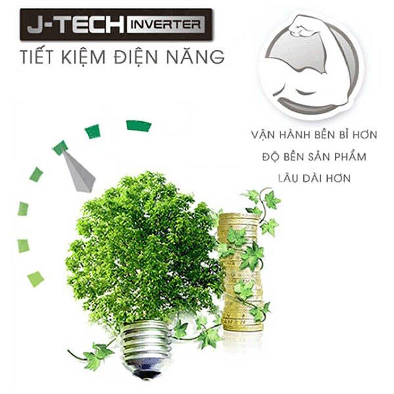 Tủ lạnh có công nghệ J-Tech Inverter tiết kiệm điện năng