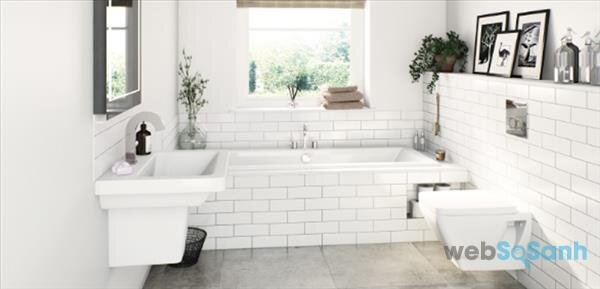 Những phong cách thiết kế phòng tắm đơn giản mà đẹp 2018 không thể bỏ qua