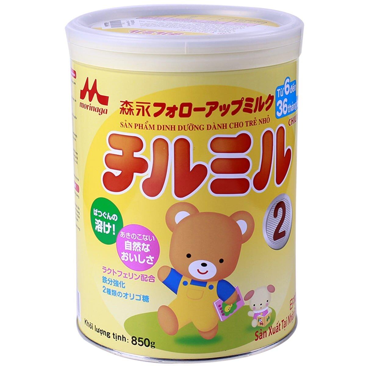 Sữa bột Morinaga số 2