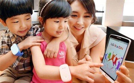 Các hoạt động và vị trí của trẻ em sẽ được bố mẹ giám sát thông qua ứng dụng trên smartphone