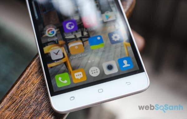Điện thoại W E10 sở hữu giao diện thân thiện, kích thước màn hình lớn, và hỗ trợ SIM 4G