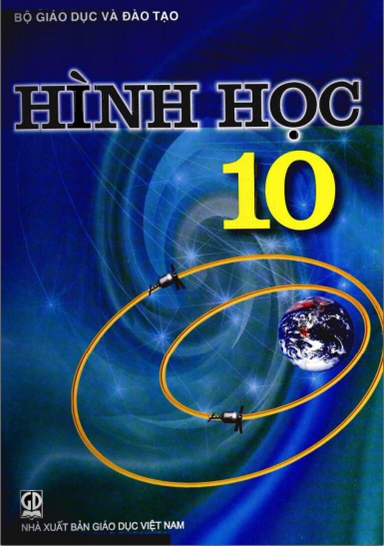 Sách giáo khoa toán 10 giúp các em làm quen với hình không gian