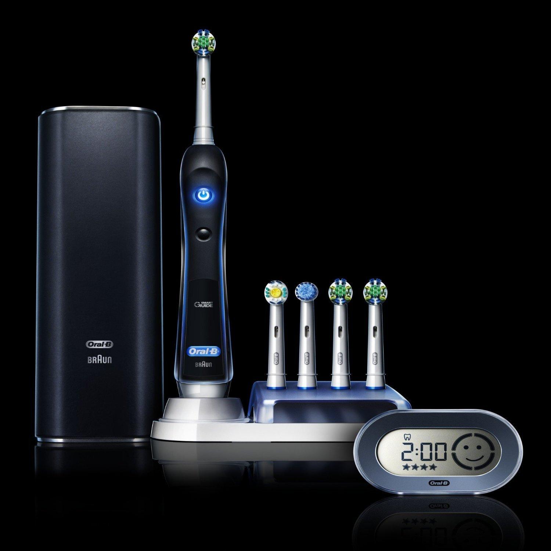 Bàn chải điện đánh răng tự động Oral-B Braun Pro 7000 có giá khoảng 3.000.000 VNĐ