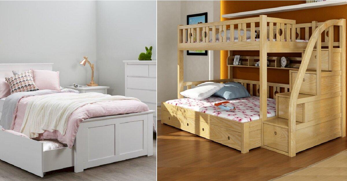 Bỏ túi kinh nghiệm chọn mua giường trẻ em 1m2 chất lượng