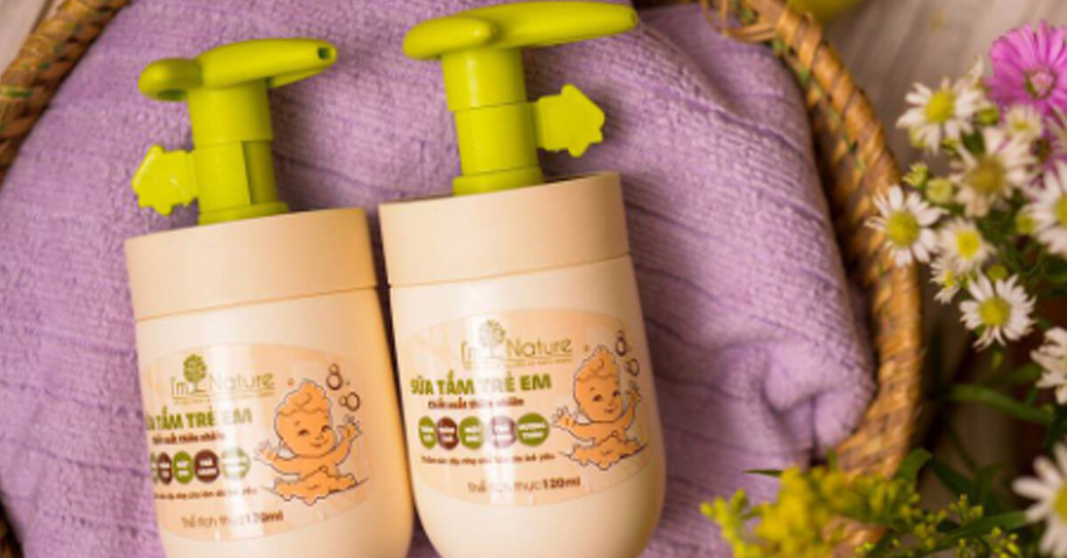 Sữa tắm trẻ em I'm Nature có tốt không? Giá bao nhiêu tiền?