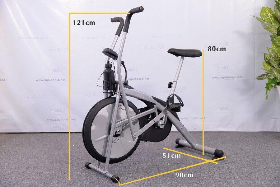 Xe đạp tập thể dục tại nhà Air Bike MK98