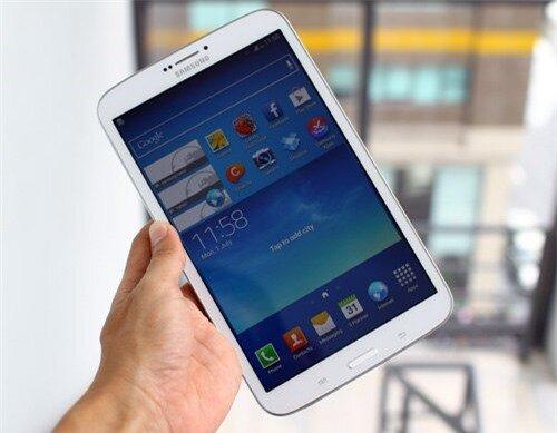 Samsung Galaxy Tab 3 8.0. Ảnh: Tuấn Hưng.