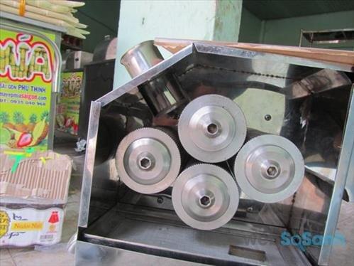 Số rulo trên một máy ép nước mía sẽ ảnh hưởng đến hiệu suất ép nước mía