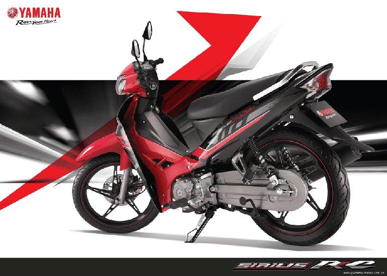 Các phiên bản khác nhau của Yamaha Siriu