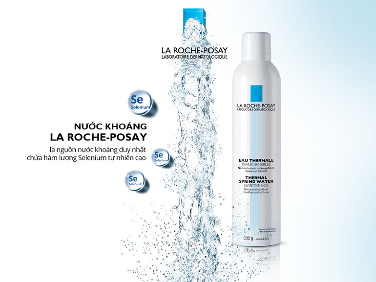 Xịt khoáng La Roche Posay 300ml dành cho da nhạy cảm