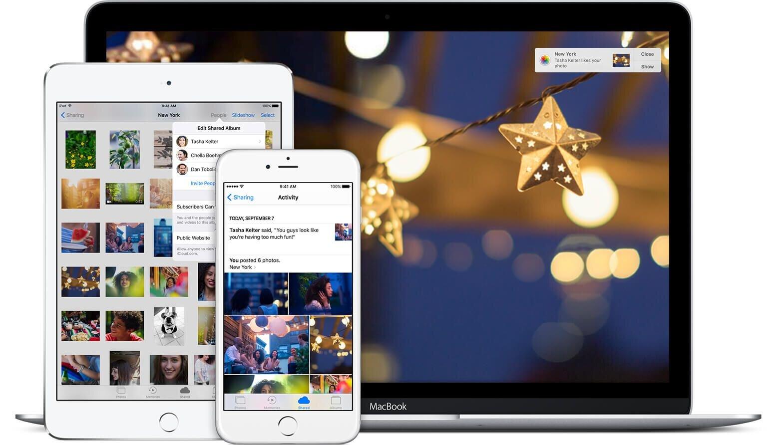 Việc đồng bộ hóa hình ảnh lên iCloud giúp bạn dễ dàng sao chép và sử dụng trên các thiết bị của Apple