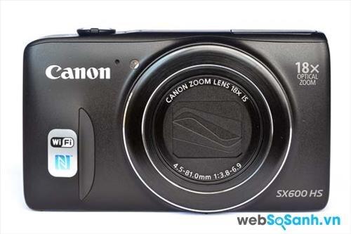 Canon PowerShot SX600 HS sở hữu ống kính zoom 18x, đem đến cho người dùng dải tiêu cự đa năng từ 25-450mm