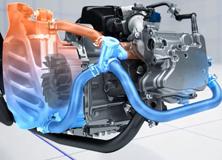 Động cơ trên xe máy Yamaha NVX