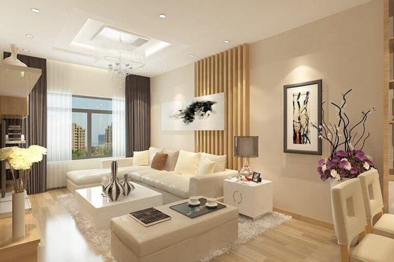 Nội thất phòng khách chung cư hiện đại tạo ra sự tiện nghi