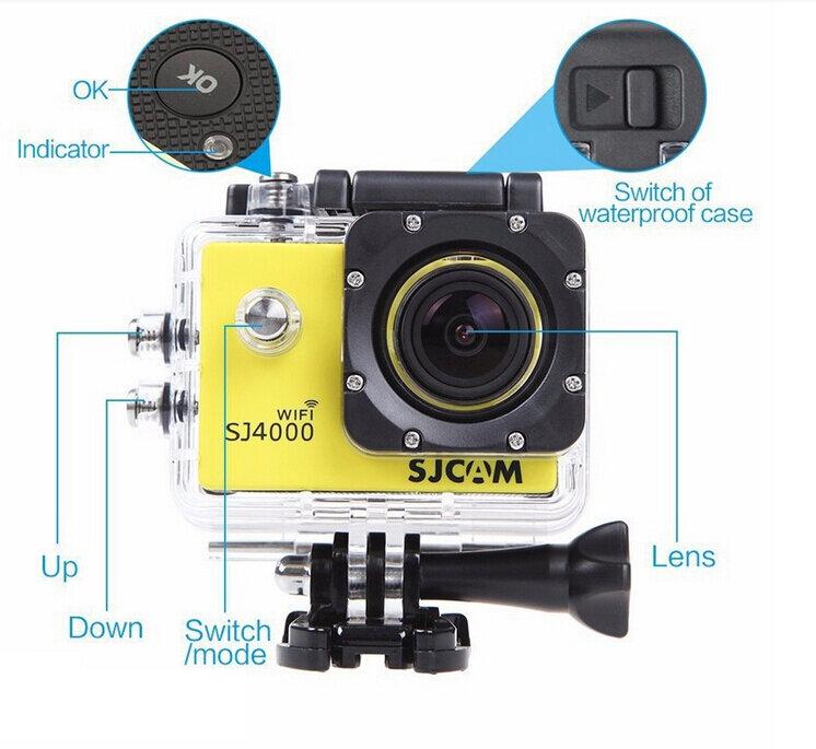 Thiết kế bên ngoài của SJ4000 wifi