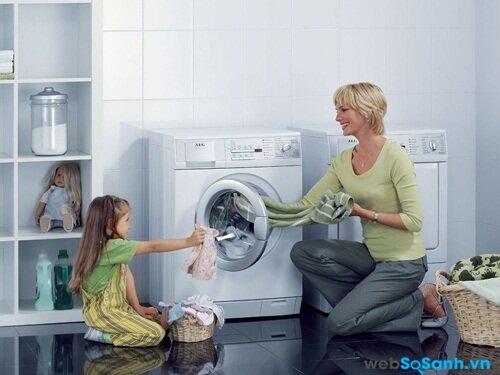Chất liệu cotton bền cả khi giặt máy
