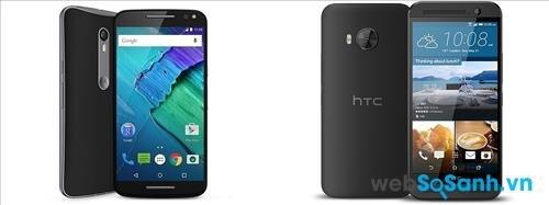 Moto X Style và HTC One ME