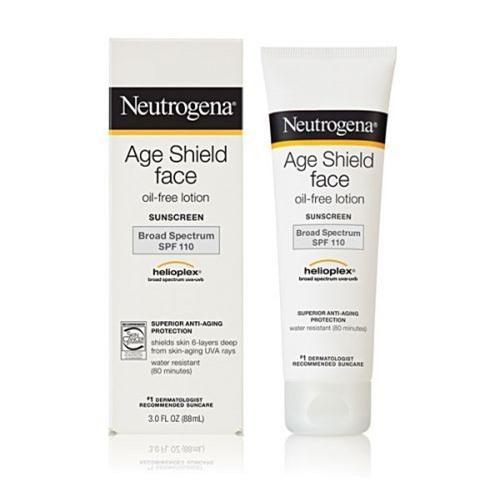 Neutrogena Age Shield Face oil free lotion SPF 110