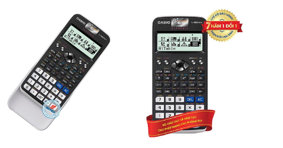 Bảng giá máy tính Casio mới nhất 2021 cho học sinh, sinh viên tham khảo