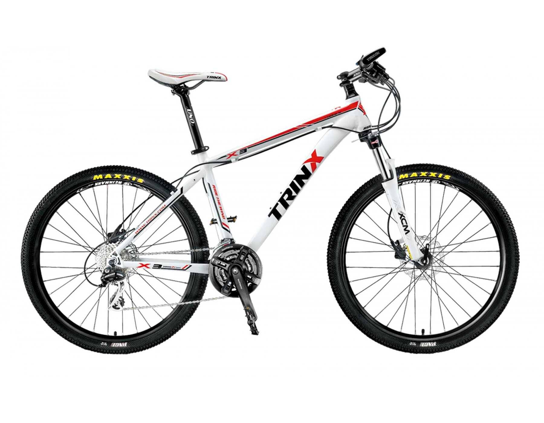 Xe đạp Trinx có mức giá khá rẻ