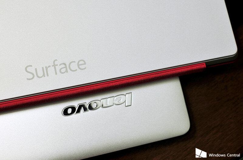 Surface Pro 3 hay Lenovo Yoga 3?