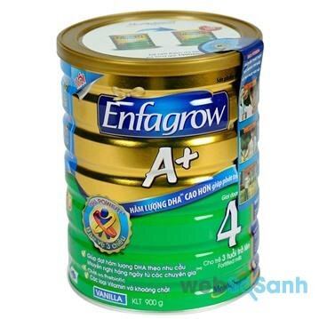 Sữa bột tăng cân cho bé Enfagrow A+ 4