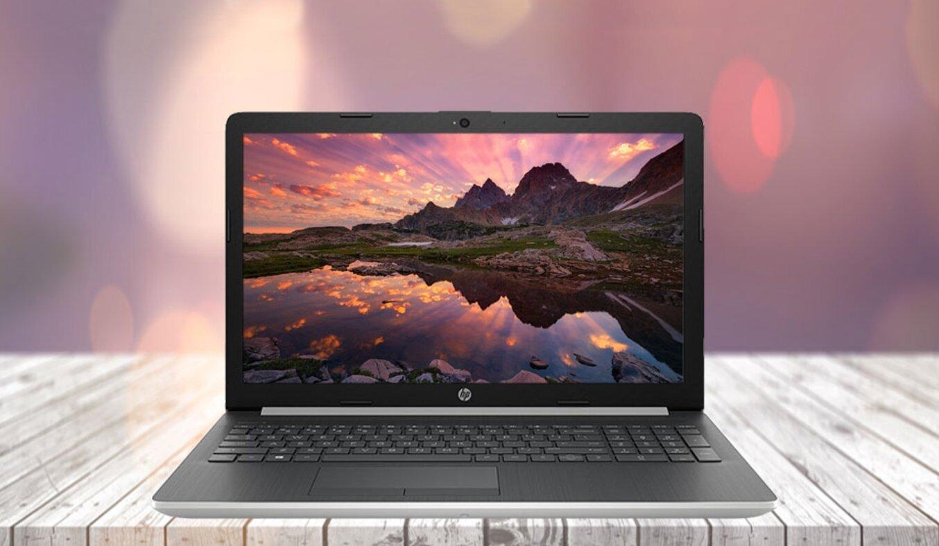 HP 15-da1022TU 5NK80PA được thiết kế sang trọng và vô cùng cuốn hút