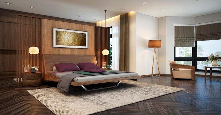 Bật mí ý tưởng thiết kế nội thất phòng ngủ hiện đại