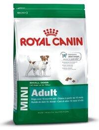 Thức ăn khô cho chó Royal Canin Mini Adult - 800g, dành cho chó từ 0-10kg và trên 10 tháng tuổi