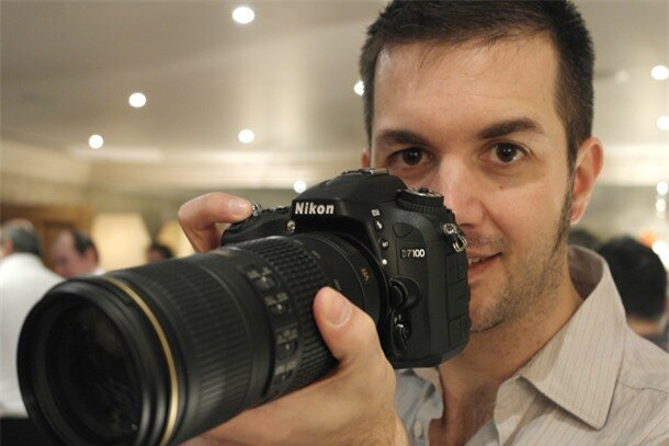 We get to handle the new Nikon D7100
